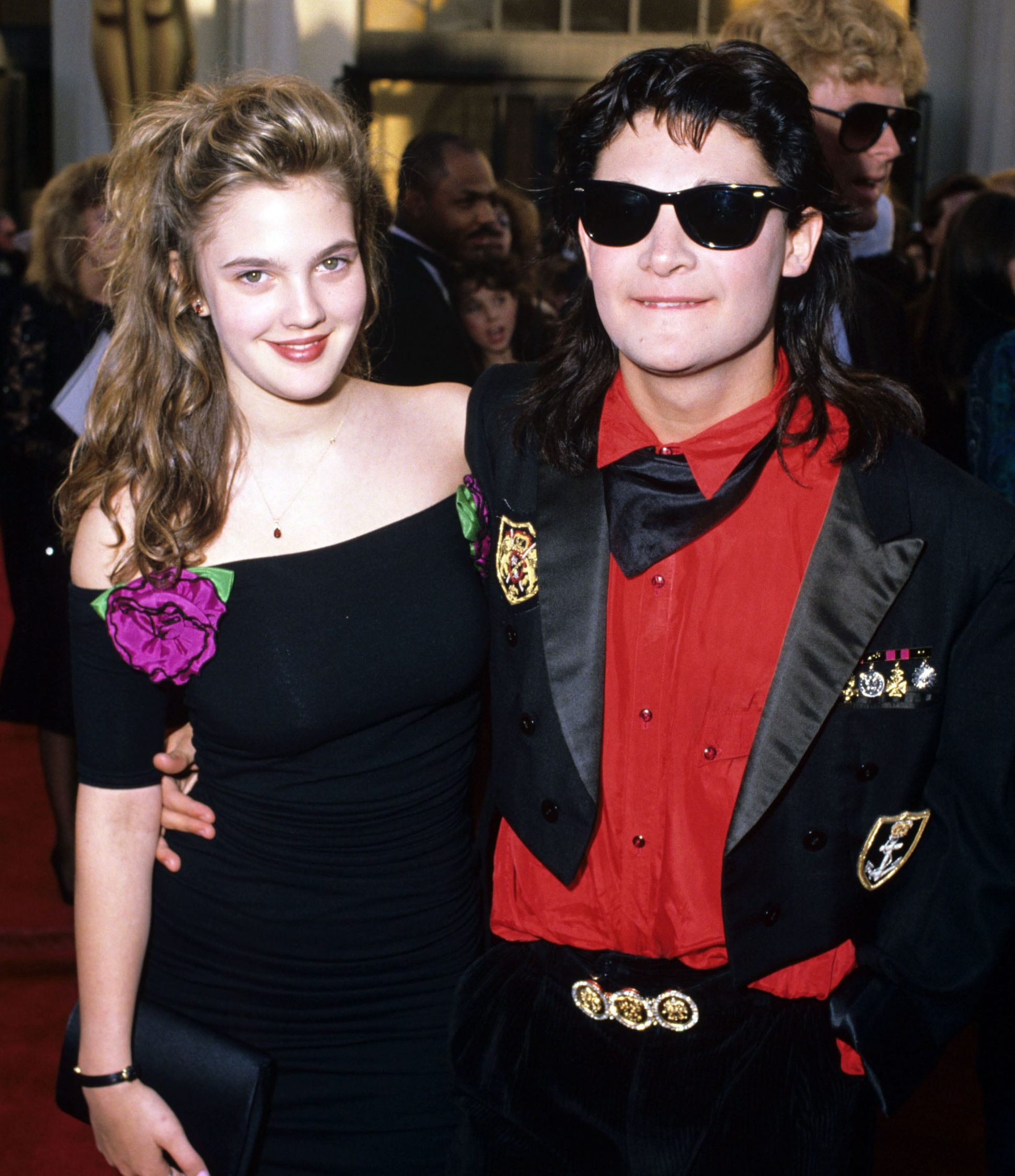 corey2 e1584447129759 20 Things You Might Not Have Realised About Drew Barrymore