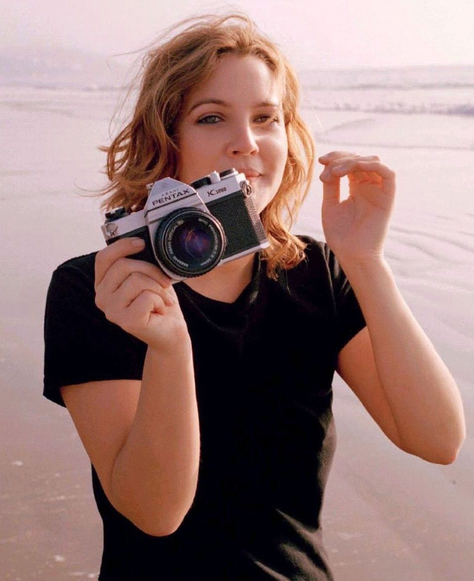 pentax3 e1584448104321 20 Things You Might Not Have Realised About Drew Barrymore