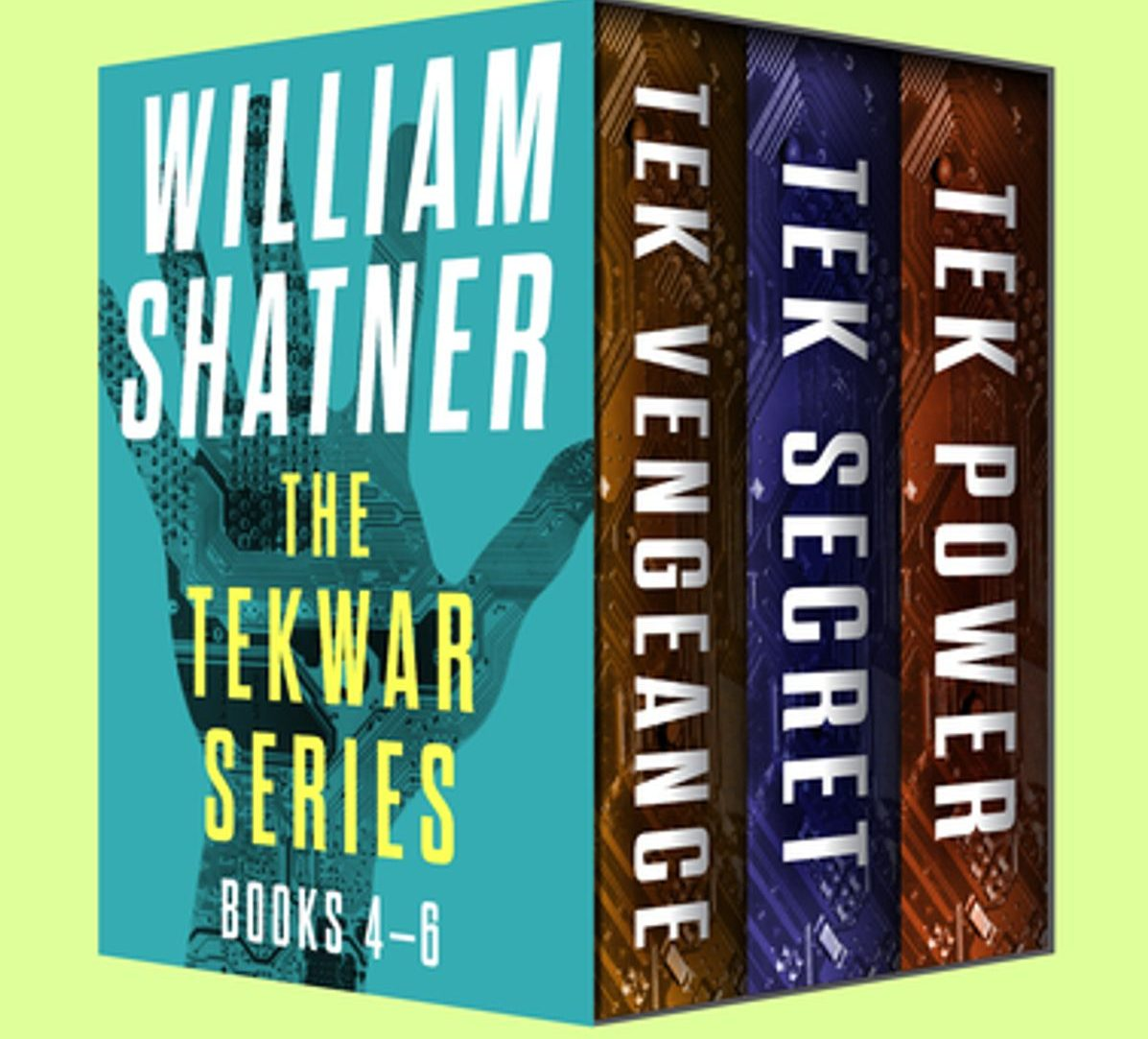 the tekwar series books 4 6 e1616409822783 21 Facts You Probably Never Knew About William Shatner