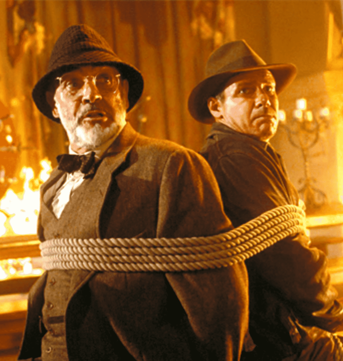 tied up 20 Things You Didn't Know About Indiana Jones and the Last Crusade