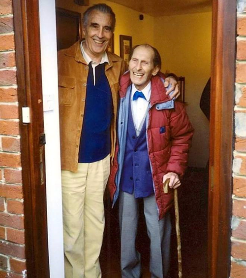 12Friends 1 12 Facts You Probably Never Knew About Sir Christopher Lee!