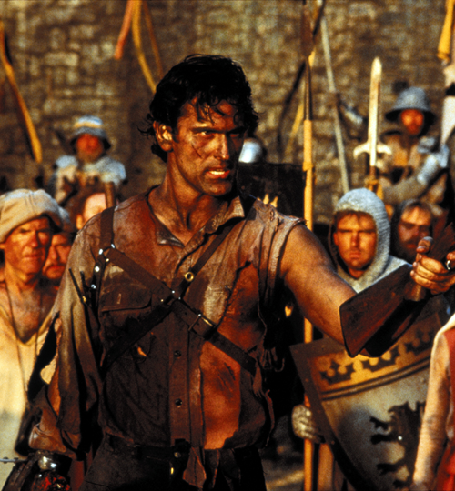 7Makeup Bruce Campbell's Plastic Surgery and 19 Other Things You Didn't Know About Army of Darkness