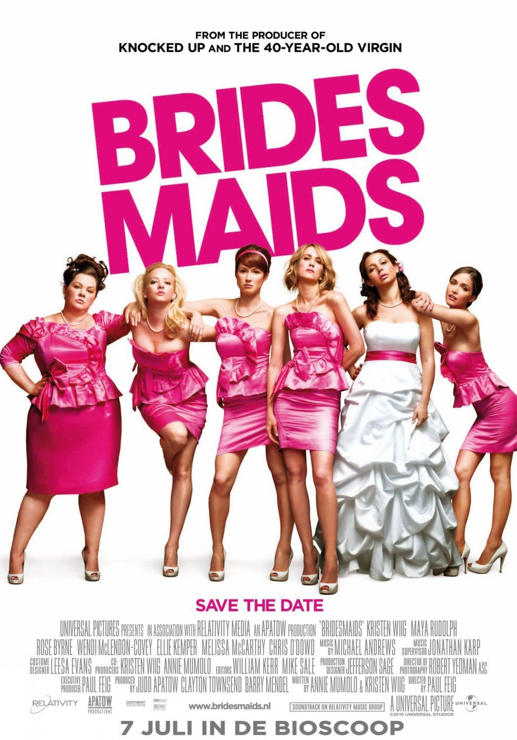 Bridesmaids Poster bridesmaids 21958364 1048 1500 The Best Movies On Netflix In 2019