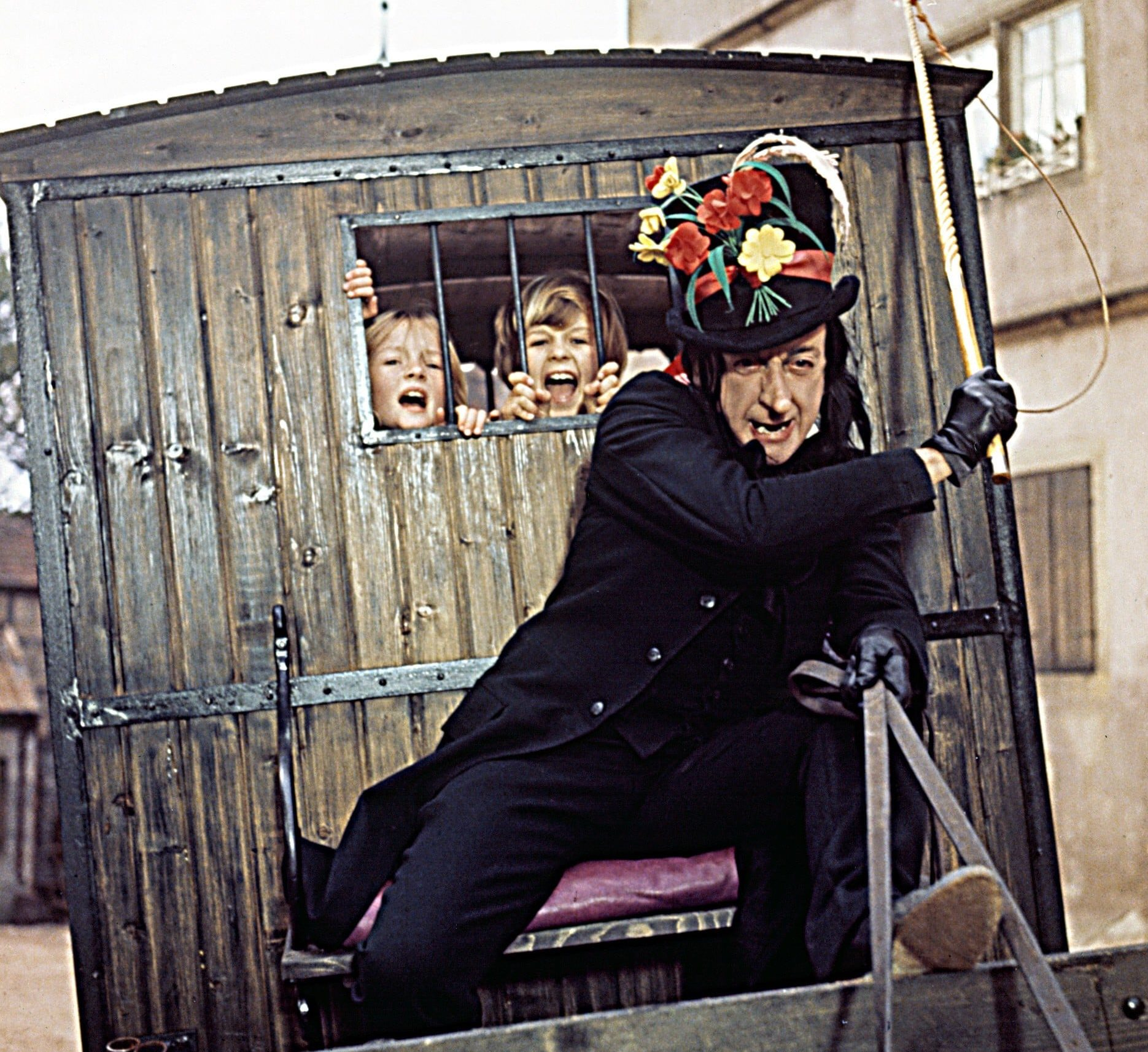 Child Catcher From Chitty Chitty Bang Bang 2 e1606308917630 25 Movies We Should NEVER Have Been Allowed To Watch As Kids