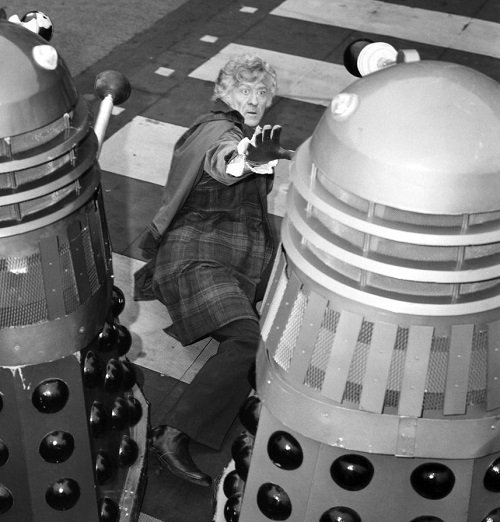 Daleks Pertwee 20 TV Shows That Scared The Life Out Of You As A Kid