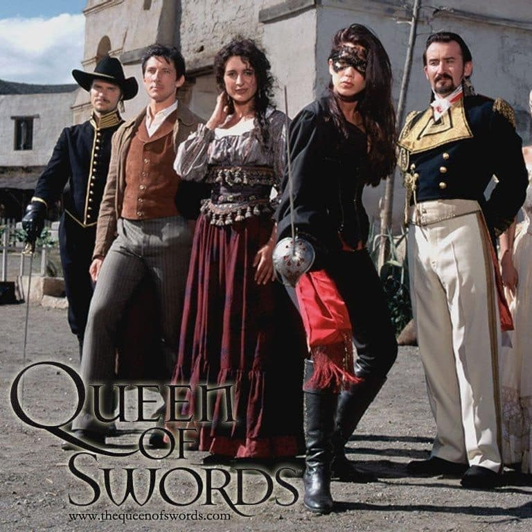Queen of Swords TV Series 749304396 large e1572362165389 The Mask Of Zorro: 20 Facts About The Film That Will Really Leave A Mark