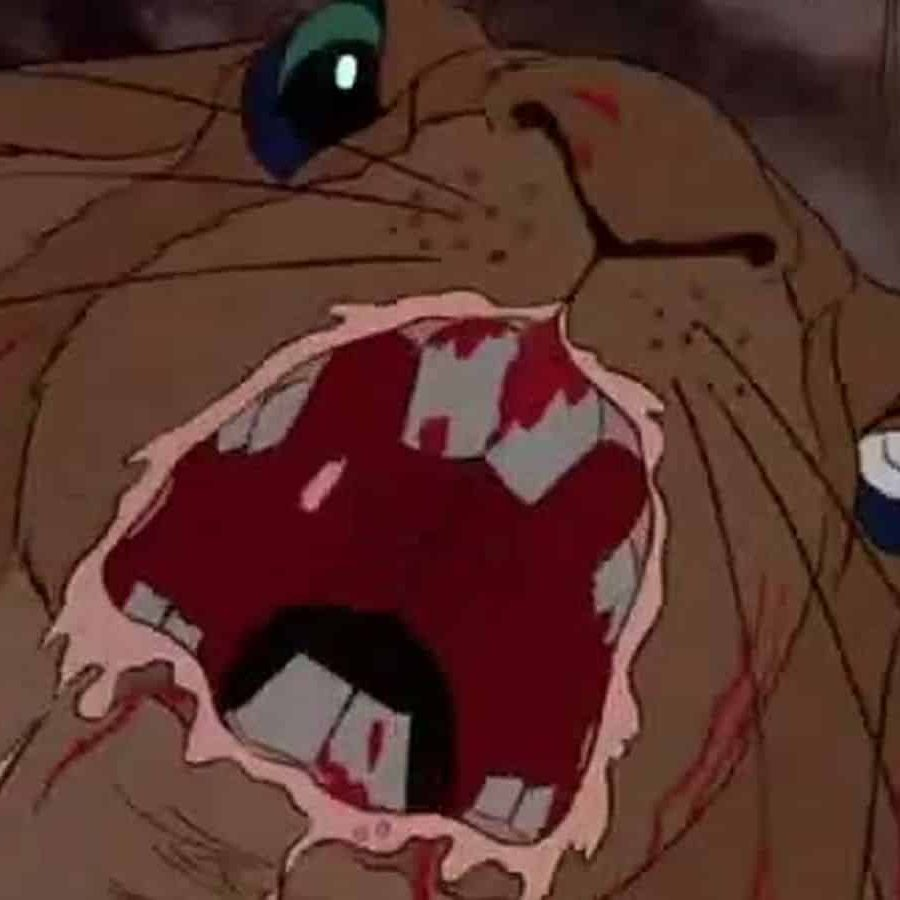 Scene from animated film Watership Down e1572518158554 20 Movies We Should Never Have Been Allowed To Watch As Kids