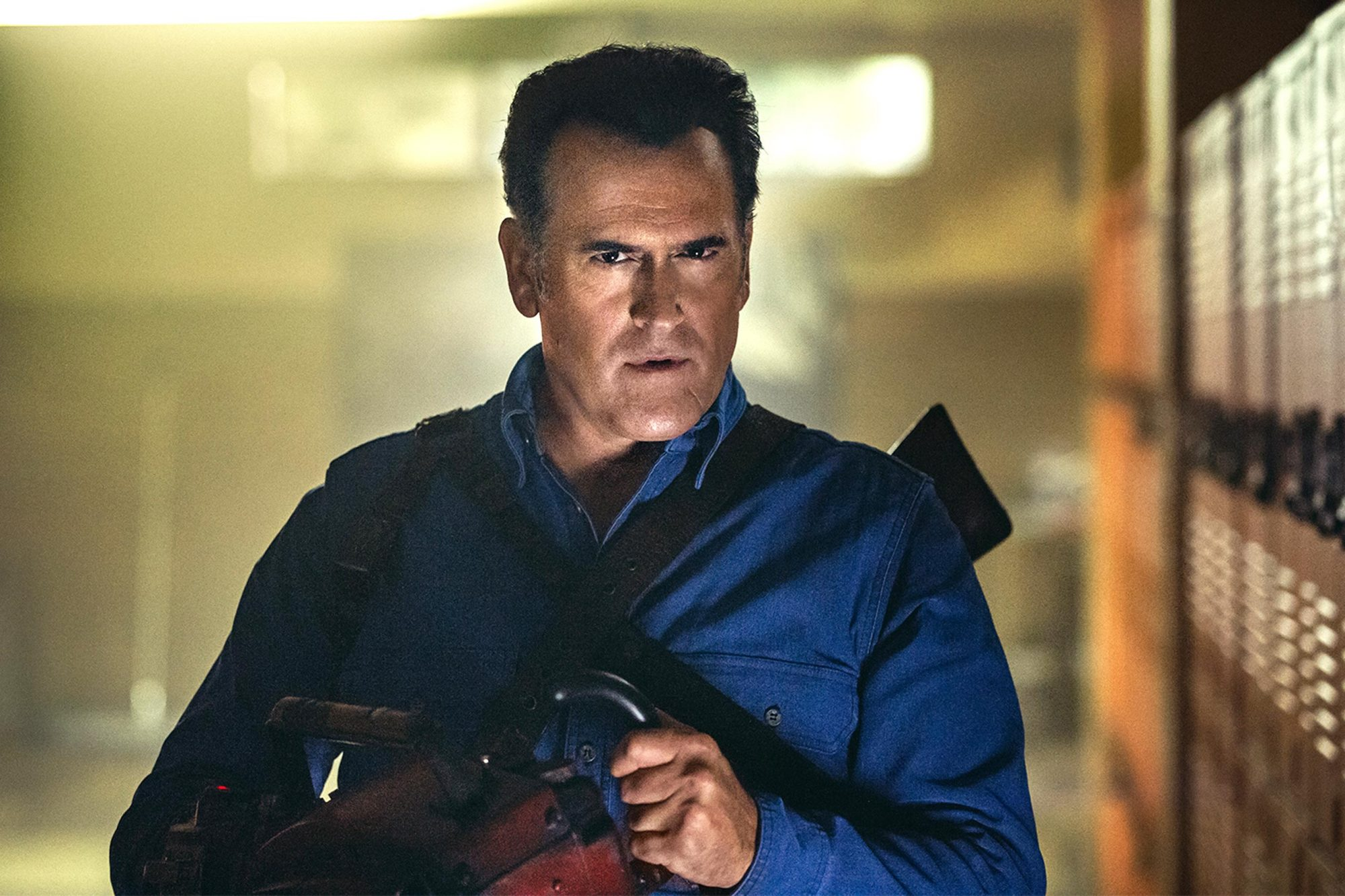 ash vs evil dead 2000 Bruce Campbell's Plastic Surgery and 19 Other Things You Didn't Know About Army of Darkness