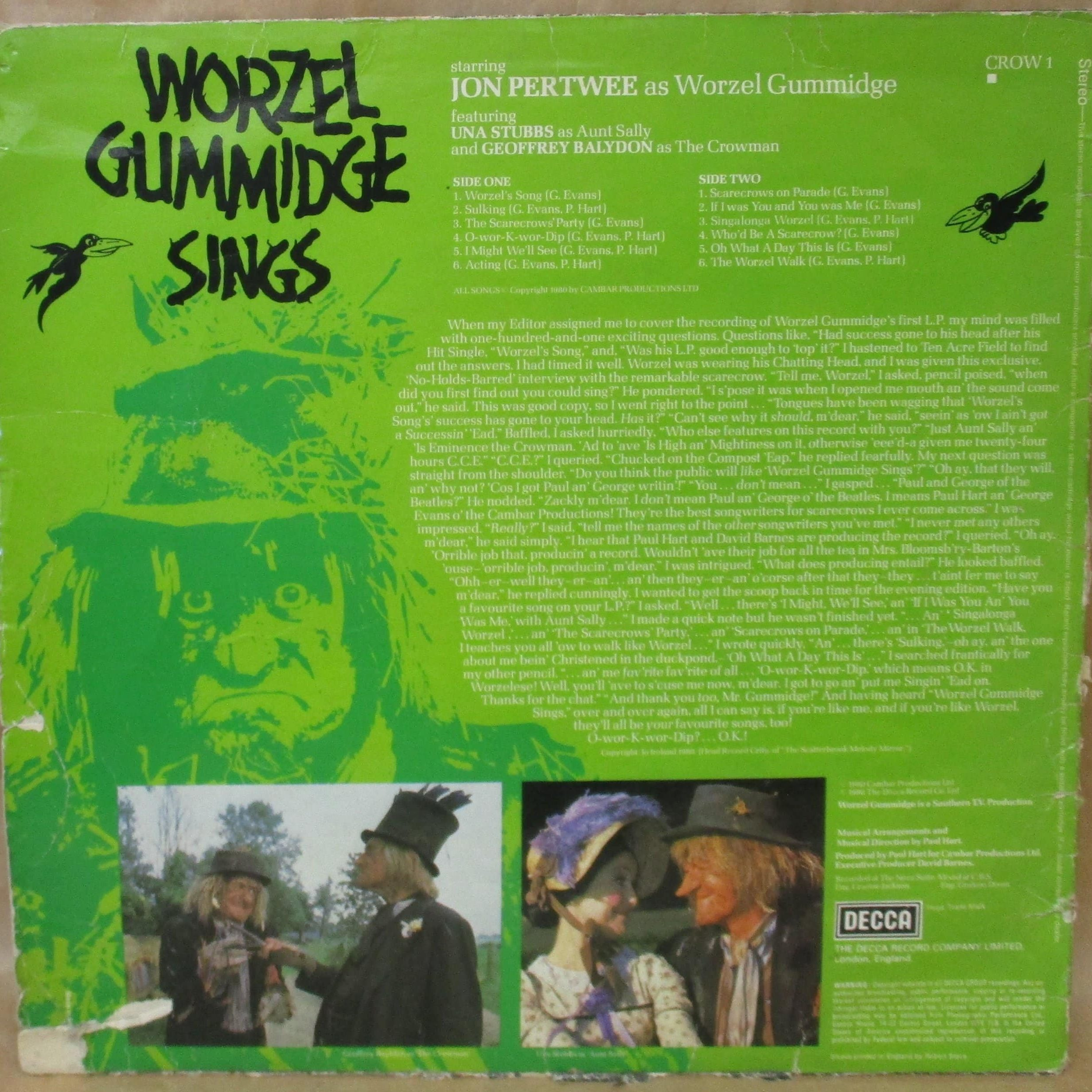 bb02a79846c39424c19fadd4ca6f e1571738899578 Peter Jackson Did The Special Effects, And 19 Other Facts About Worzel Gummidge