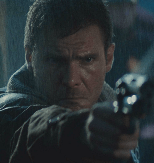 blade runner deckard pointing gun 1500x1000 1 20 Facts You People Wouldn't Believe About 1982's Blade Runner