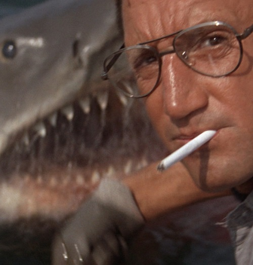 bruce the shark and roy scheider in jaws 20 Hilariously Negative Reviews Of Classic Movies