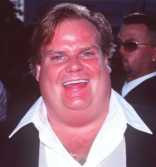 chris farley 9542500 2 raw square 20 Facts You Probably Didn't Know About There's Something About Mary!