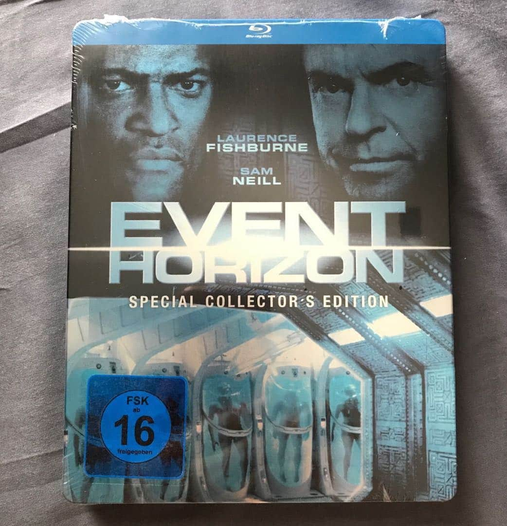 event horizon bluray special collectors edition bluray steelbook germany us39 s49 1525751157 e3c60dfe Event Horizon: 20 Things You Never Knew About THE Cult Sci-Fi Horror