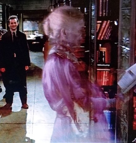 ghostbusterslibrarianghost 25 Movies We Should NEVER Have Been Allowed To Watch As Kids