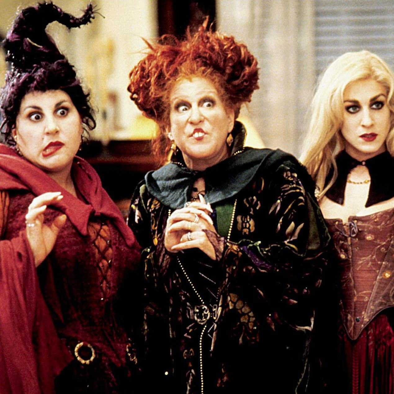 hocus pocus 1993 better midler kathy najimy sarah jessica parker credit allstar picture library alamy stock photo RWDKTM@2000x1270 e1572533542269 25 Movies We Should NEVER Have Been Allowed To Watch As Kids