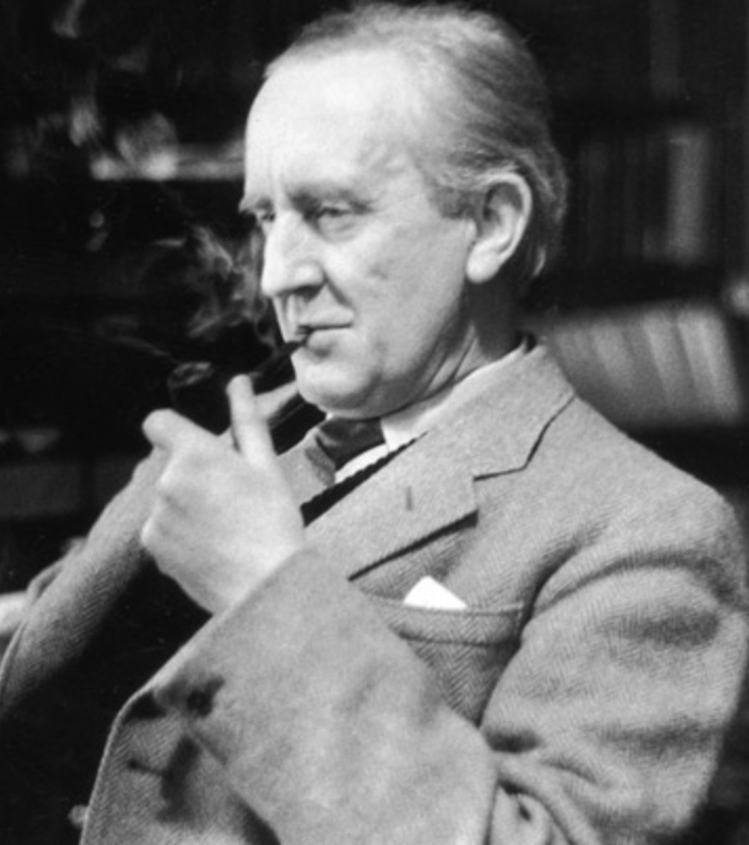 jrr tolkien 9508428 1 402 12 Facts You Probably Never Knew About Sir Christopher Lee!