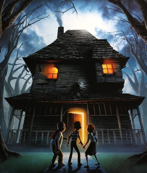 monster house 2006 original film art 2000x e1570281129134 The 10 Best Movies To Watch At Halloween