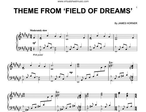 soundtrack e1617695561905 22 Things You Might Not Have Realised About Field Of Dreams