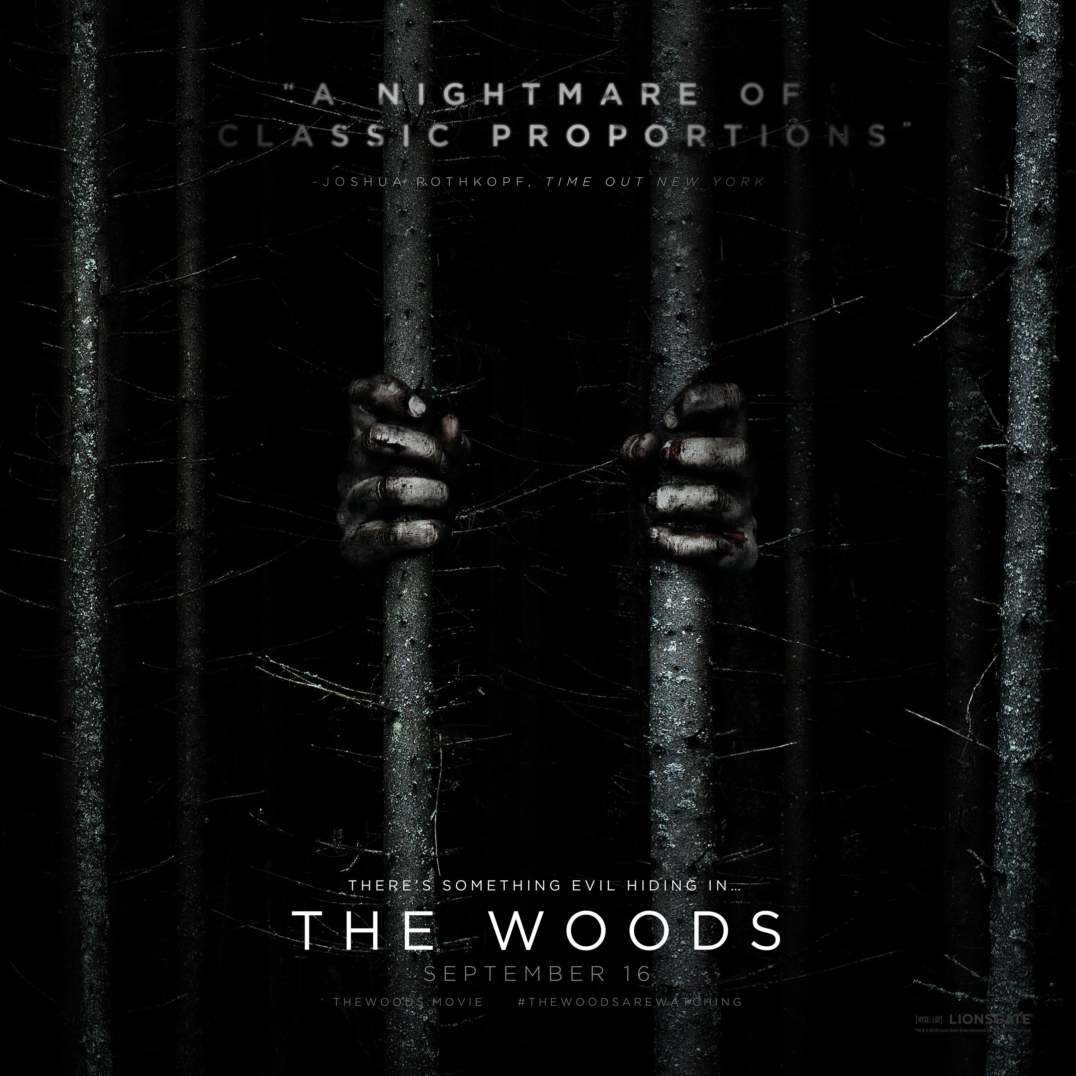 the woods poster e1572002324764 The Blair Witch Project: 20 Behind-The-Scenes Nuggets That Made It The Most Successful Film Ever