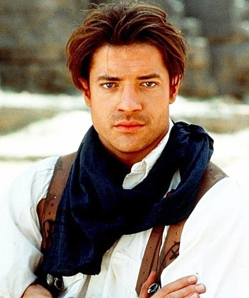 1 2 Remember The Mummy's Brendan Fraser? Here's What He Looks Like Now!