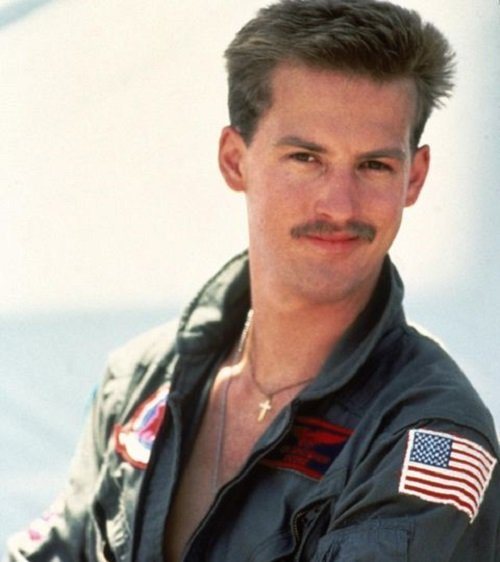 1498222632 anthony edwards in top gun 20 Things You Never Knew About Revenge of the Nerds