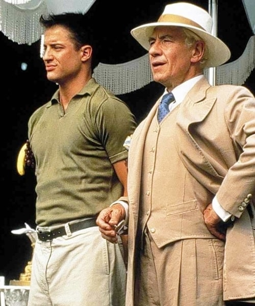 4 4 Remember The Mummy's Brendan Fraser? Here's What He Looks Like Now!
