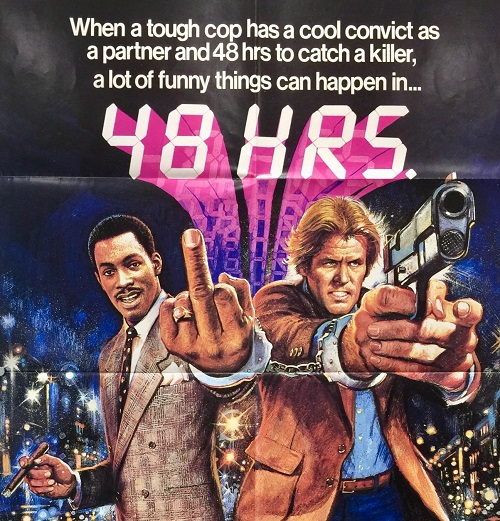48 hrs uk one sheet 20 Facts You Never Knew About The Eddie Murphy Classic 48 Hrs