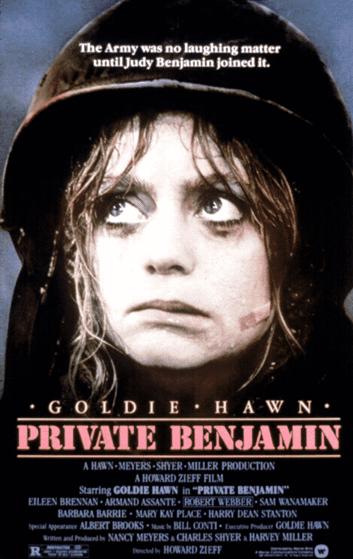 6Poster We've Been To Boot Camp For 10 Facts About Private Benjamin You Probably Never Knew!