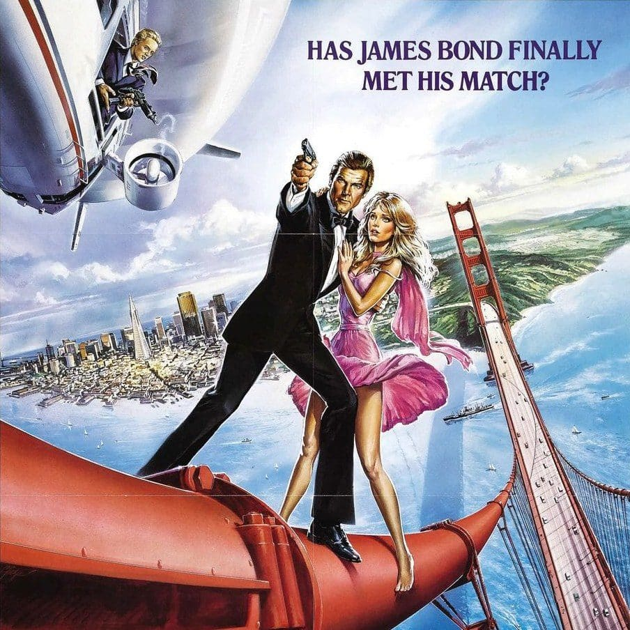 A View to a Kill Poster e1573222175644 A View To A Kill: 20 Things You Never Knew About Roger Moore's Final James Bond Film