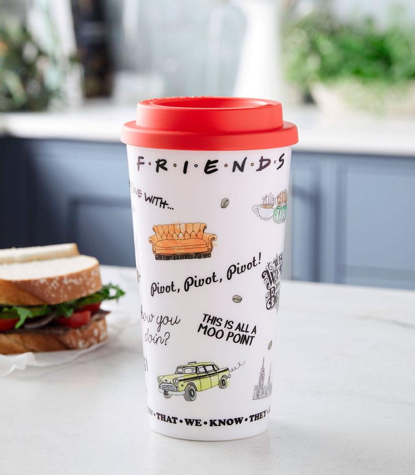 Aldi Friends coffee cup Aldi Launches New Friends Homeware Collection