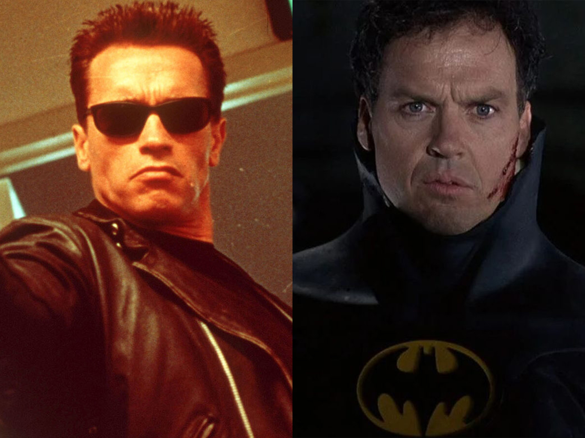 Arnold Schwarzenegger Michael Keaton It's-a 20 Crazy Facts About Super Mario Bros: The Movie