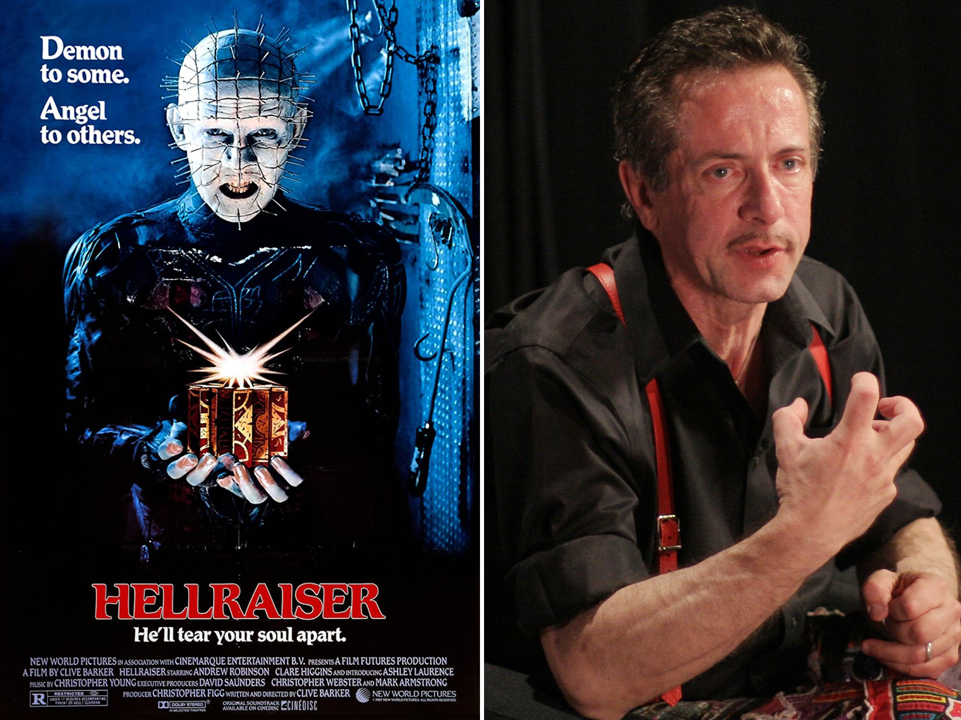 Hellraiser Clive Barker 20 Things You Didn't Know About Candyman