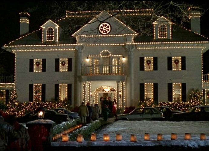 Parrish House from Jumanji 1995 movie at Christmas e1615218379637 20 Facts You Probably Didn't Know About Jumanji
