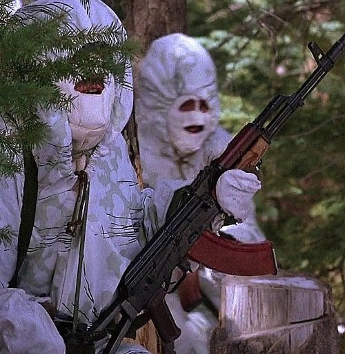 RedDawnFakeAK74Snow2a 20 Things You Probably Didn't Know About Red Dawn