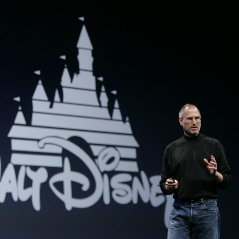 Steve Jobs Disney 1024x773 e1573814226646 20 Facts That'll Put A New Spin On Tron