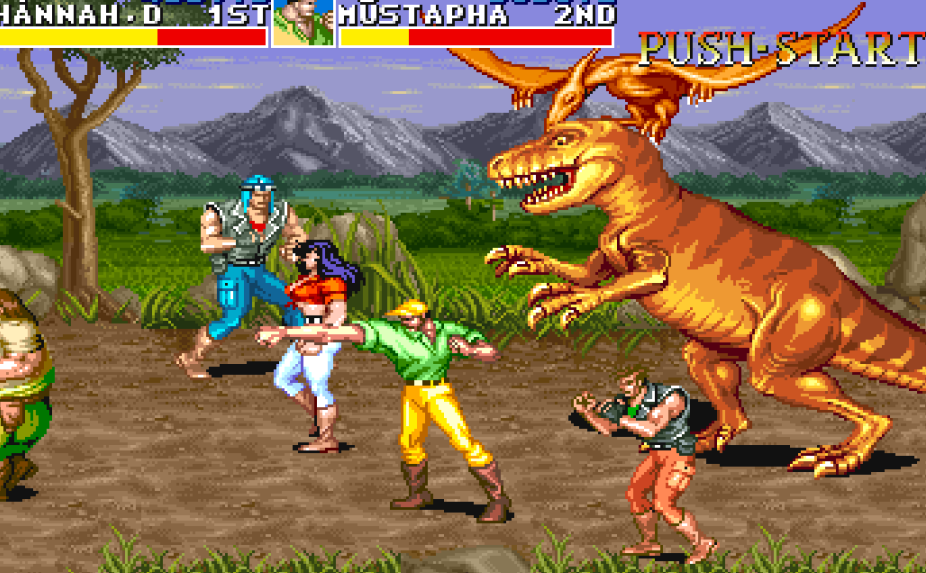 cadillacs and dinosaurs arcade 54 e1615285185999 20 Things You Might Not Have Realised About The 1994 Street Fighter Movie