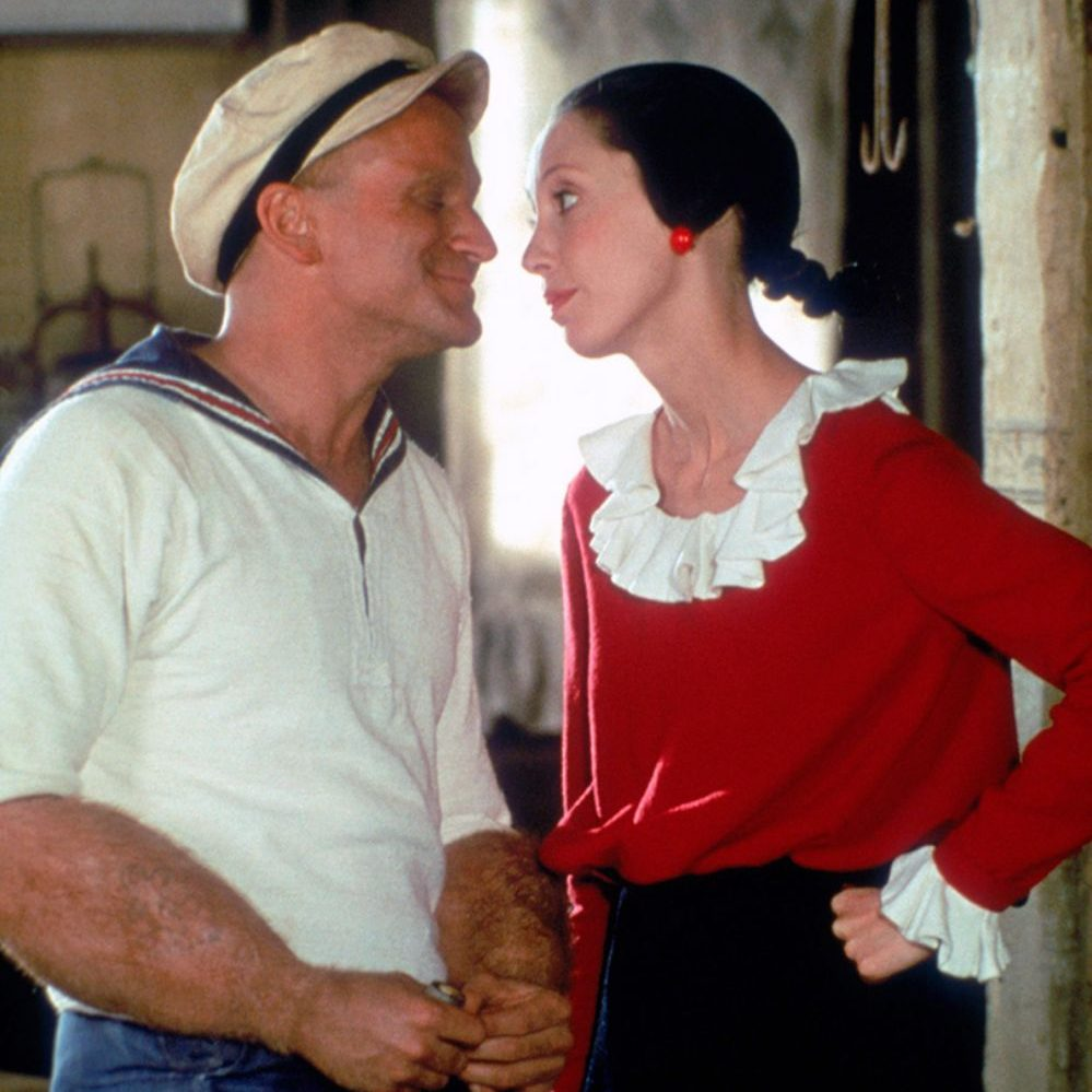 popeye robin williams shelley duval 3 e1575026043652 20 Facts About 1980's Popeye That Taste Even Better Than Spinach