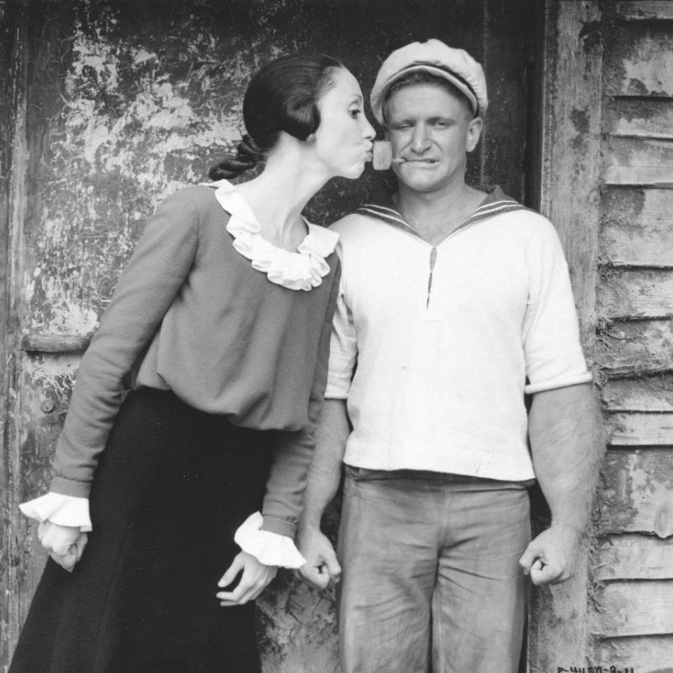popeye robin williams shelley duval 5 e1575030598675 20 Facts About 1980's Popeye That Taste Even Better Than Spinach