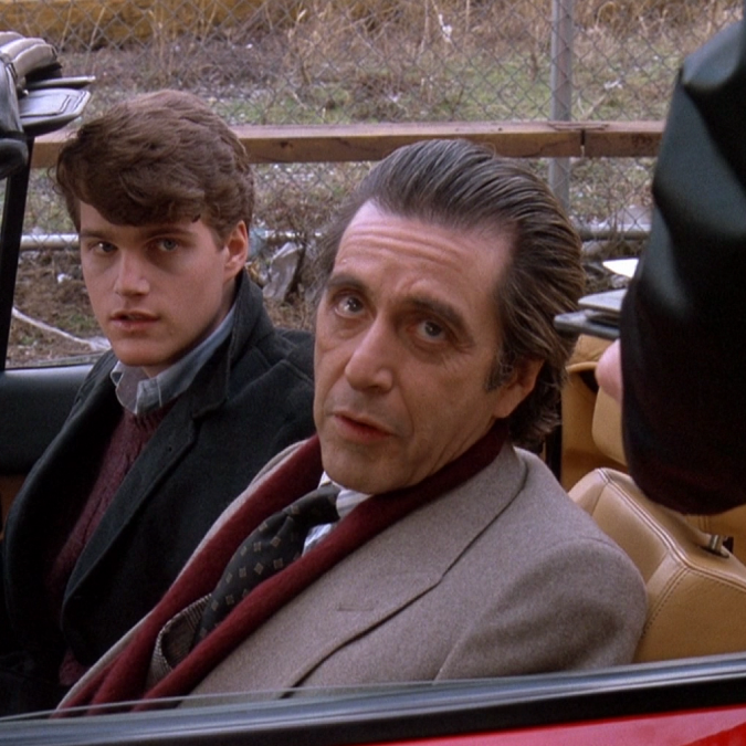 scent of a woman 1992 al pacino with chris o donnell in a car stopped by police movie still e1576160386456 20 Oscar-Worthy Facts About Scent Of A Woman