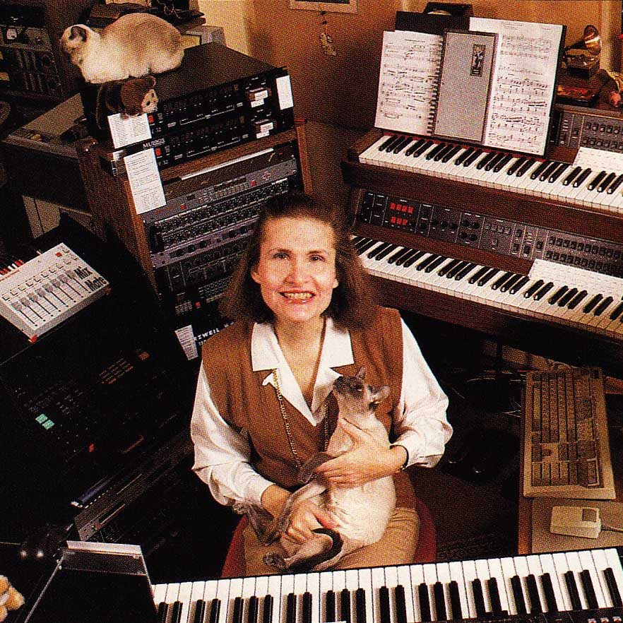 wendy carlos cat 1 e1573813614476 20 Facts That'll Put A New Spin On Tron