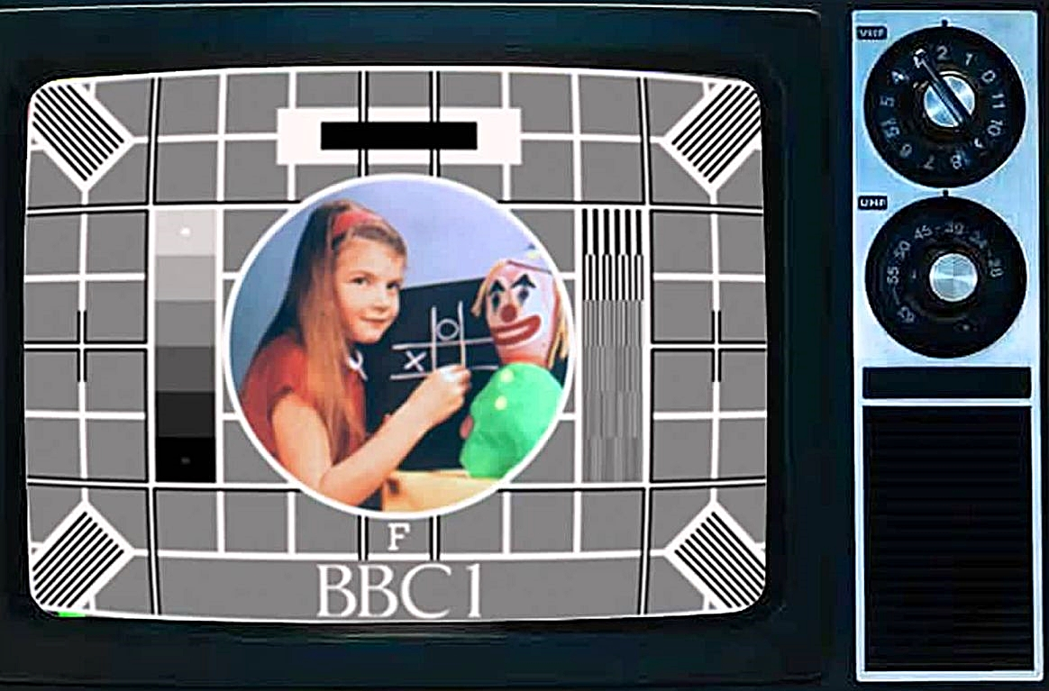1 11 Remember The Girl From The BBC's Test Card? Here's What She Looks Like Now!