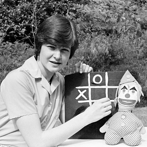 4 12 Remember The Girl From The BBC's Test Card? Here's What She Looks Like Now!