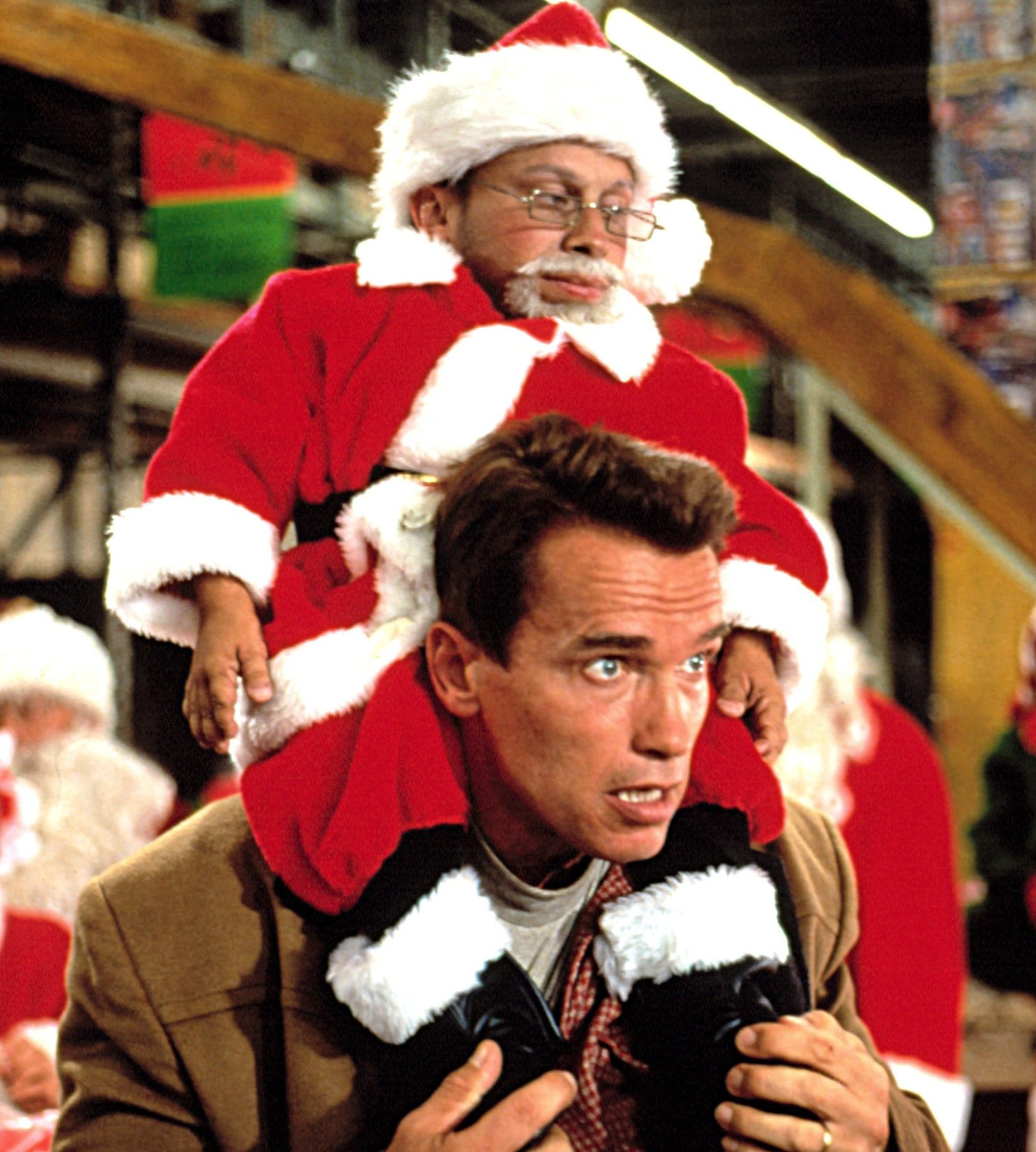 Arnold Schwarzenegger Jingle All Way e1580997441191 Put That Cookie Down, NOW, And Read These 20 Facts About Jingle All The Way