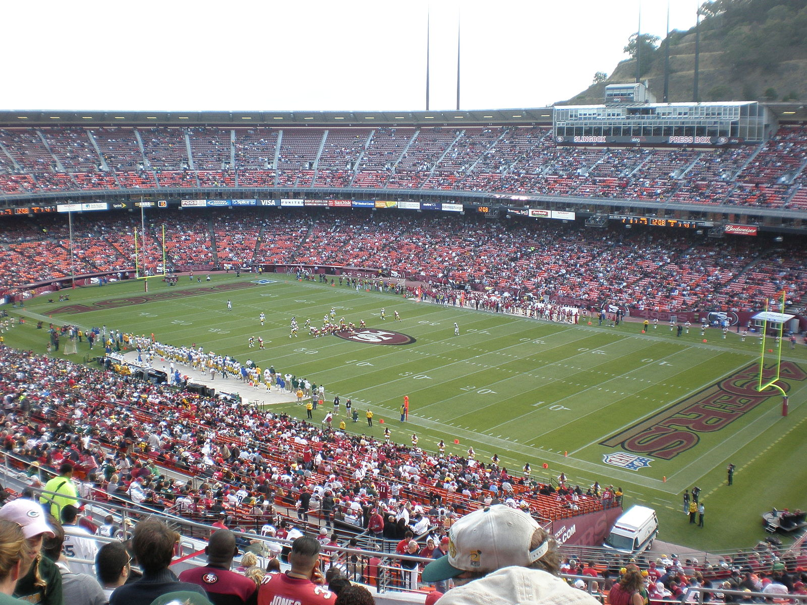 Candlestick Park field from section 55 20 Things You Never Knew About So I Married An Axe Murderer
