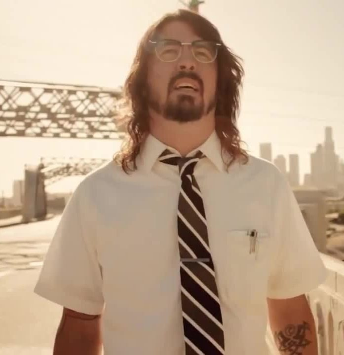 DaveGrohl e1581072507583 20 Things You Probably Didn't Know About Falling Down