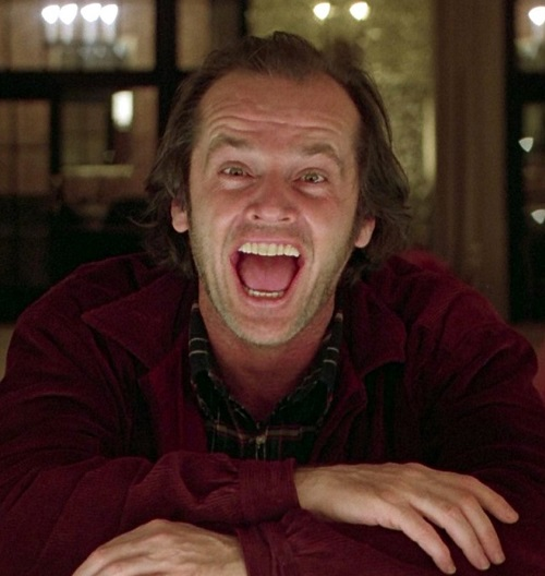 Jack Nicholson Shining 20 Classic Movie Moments That Were Completely Improvised