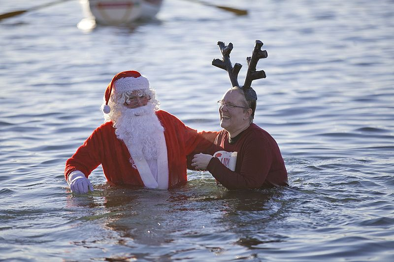 Polar Bear Swim 2016 24032407901 20 Bizarre British Christmas Traditions That Confuse The Rest of The World
