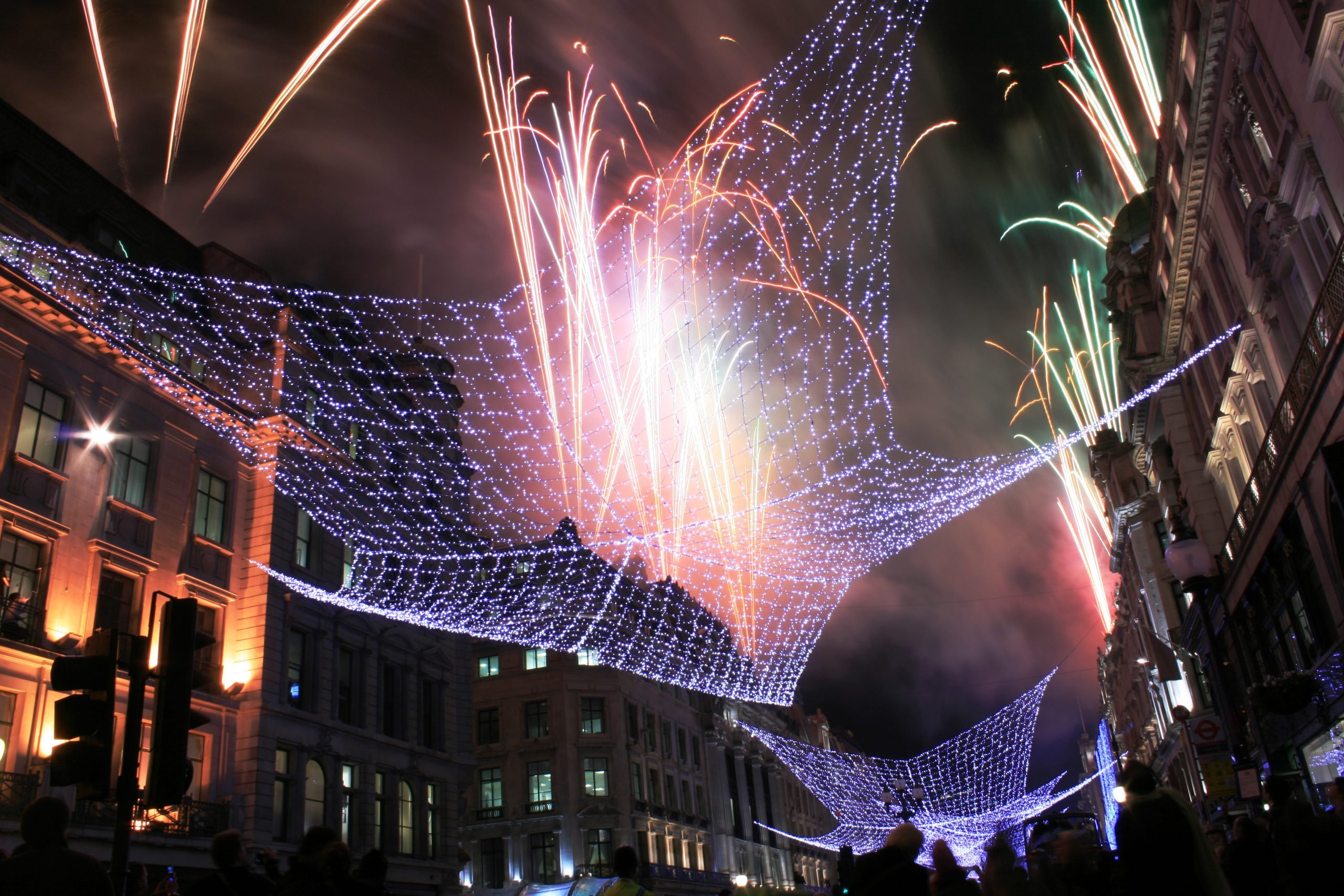 Regent Street Christmas lights switched on scaled 20 Bizarre British Christmas Traditions That Confuse The Rest of The World