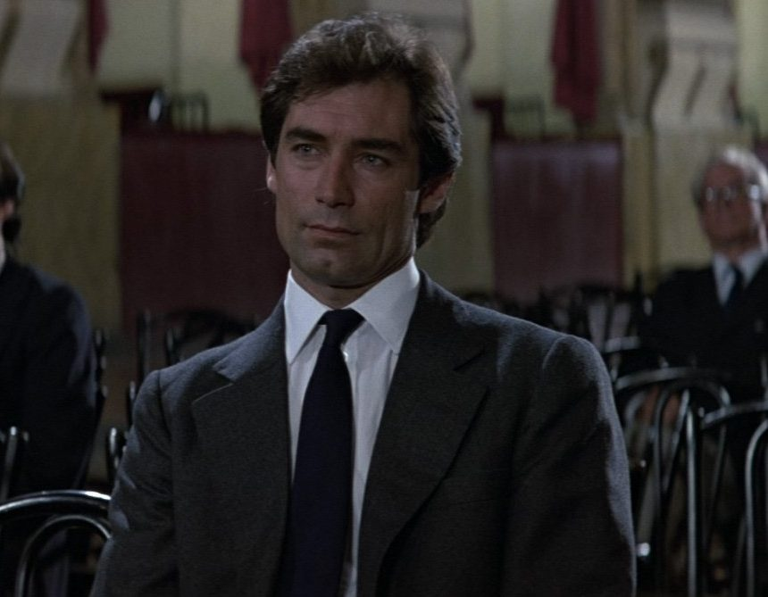 Timothy Dalton Grey Flannel Suit e1622542538945 20 Reasons Why Timothy Dalton Was Probably The Best James Bond Ever