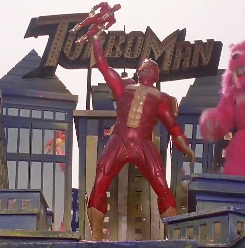 Turbo Man e1581002905198 Put That Cookie Down, NOW, And Read These 20 Facts About Jingle All The Way
